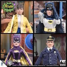batman classic tv series deluxe figurines set of 4 e metv