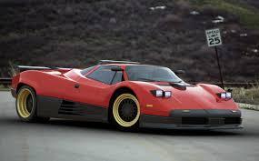 imagining the pagani zonda as a 1980s supercar