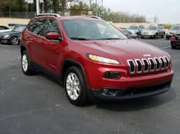 jeep red 2017 red jeep cherokee for sale carmax