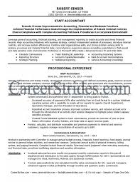General Ledger Accountant Resume Sample by Staff Accountant Resume U2013 Resume Examples
