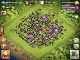 big clash of clans base what is the best clash of clans base for a town hall level 8 quora