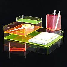 acrylic desk organizer custom colored acrylic desk set desk organizer stationery holder acrylic desk organizer uk