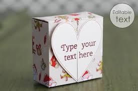 free gift box templates to download print u0026 make