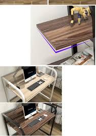 modern desktop home office computer desk laptop table computer