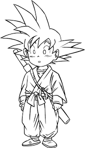 goku 08 by accelerator16 on deviantart lineart dragon ball