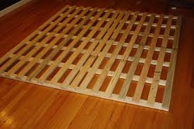 Low Profile Bed Frame How To Make A Cheap Low Profile Wooden Bed Frame 4 Steps With