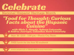 celebrate with us national hispanic heritage month lunch u0026 learn