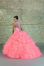 quinceanera dresses with straps mori 89023 ruffled organza up skirt tapered sheer