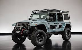 new jeep wrangler 2017 jeep customizes a pair of wranglers for moab news car and