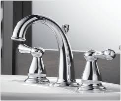 bathroom kohler faucets home depot menards likable delta lf leland