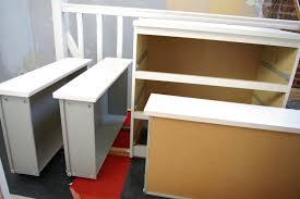 repeindre des meubles de cuisine en stratifié diy peindre des meubles en mélaminés
