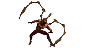 spider transparent background iron spider marvel heroes 2016 xps by cr1t3r10n on deviantart