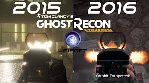 comparaison siege auto ghost recon wildlands downgraded gameplay e3 2015 vs e3 2016