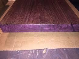 question on sanding finishing purpleheart wood by buckeyedudes
