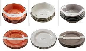 tag veranda melamine dish sets bowls salad plates dinner plates