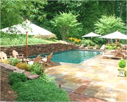 new small garden with pool backyard escapes