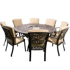 home design dining room large round table seats 6 8 with mirror
