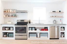 modern kitchen countertops homemade modern ep87 concrete kitchen countertops