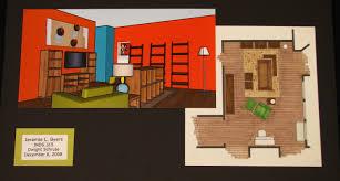 Hand Rendered Floor Plan Portfolio Jeramie Lynn Byers