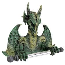 amazon com toilet paper holder commode dragon tissue tyrant