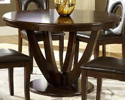 dining dining tables broyhill creswell round dining table in round cherry ebony banded dining table