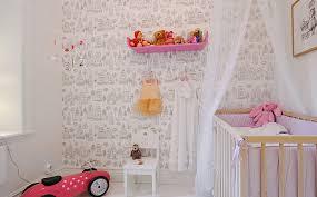 tapisserie chambre d enfant papier peint chambre fille idées décoration intérieure farik us