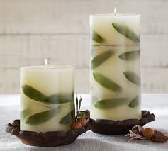 Pottery Barn Pillar Candles 15 Best Botanical Candles Images On Pinterest Candle Making