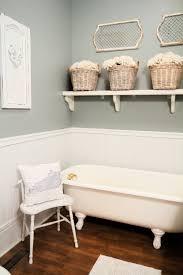 Clawfoot Bathtub Shelf Farmhouse Bathroom Thistlewood Farm