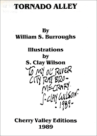 tornado alley william s burroughs trade softcover edition