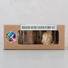 mason jar herb garden kit terrain