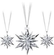 swarovski annual edition ornament 2011 and set