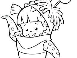 monsters inc coloring pages boo monsters inc coloring monster inc coloring pages mike monsters inc