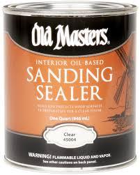 oil based sanding sealer old masters