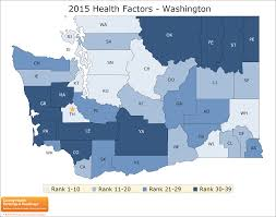 County Map Of Washington State by Washington Rankings Data County Health Rankings U0026 Roadmaps