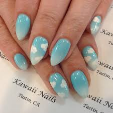 sky kawaii kawaiinails presto calgel gel gelnail nails
