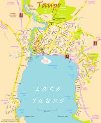 New Zealand Map New Zealand Map Taupo
