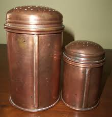 17 copper canisters kitchen three canister set in shades of