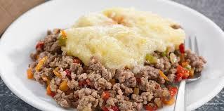 recette de cuisine viande polenta à la viande hachée et petits légumes facile et pas cher