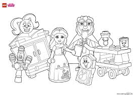 color rapunzels party decorations lego disney coloring pages printable