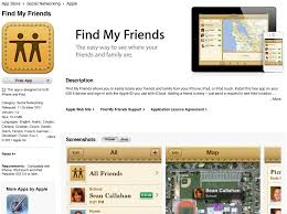 find my iphone from android find my friends app released for iphone and ipod touch