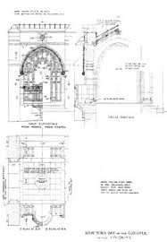 Chapel Floor Plans And Elevations Holding Washington Memorial Chapel Philadelphia Architects And