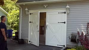 Wooden Barn Door by Barn Door Rails Menards Shop Sliding Barn Door Hardware At