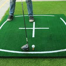amazon com pgm golf course hitting mat driving range practice