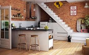 brick kitchen ideas brick kitchen ideas in stairs