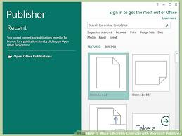 how to make a monthly calendar with microsoft publisher 14 steps