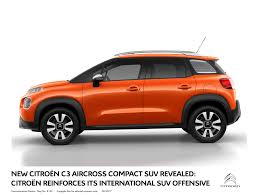 new citroen new citroën c3 aircross compact suv revealed myautoworld com