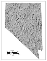 Unr Map Nevada Topography Maps
