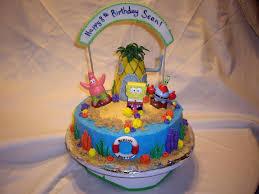 spongebob cake ideas applying spongebob birthday party ideas for your kids fitfru style