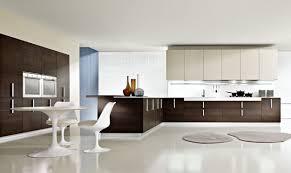 round kitchens designs modern white and brown kitchen design