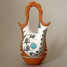 Navajo Wedding Vase Indian Wedding Vase Bing Images Native American Wedding Vase